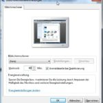 Anleitung Bildschirmschoner auf Mausklick: Konfiguration des Bildschirmschoners