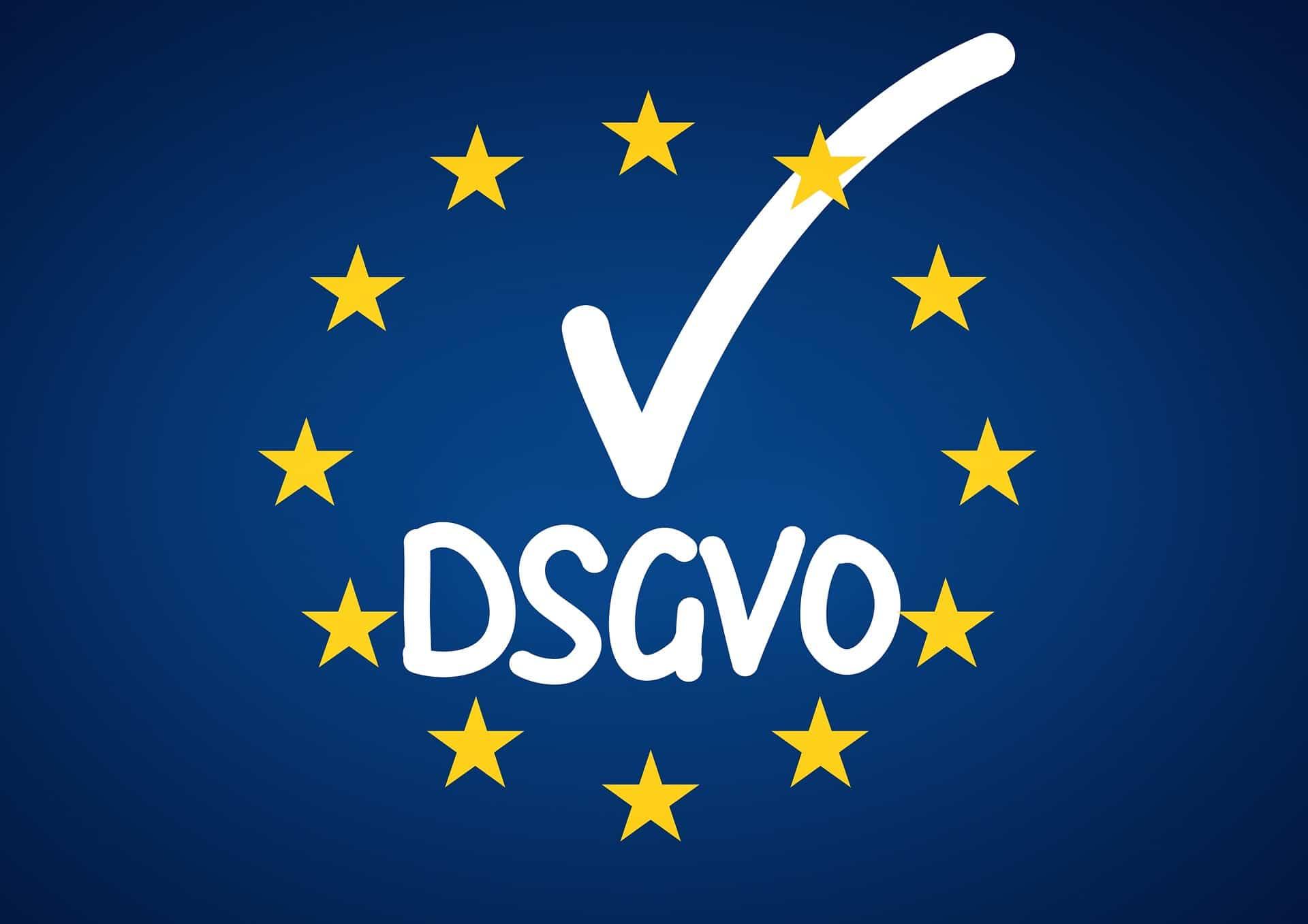 DSGVO mit Plus Haken