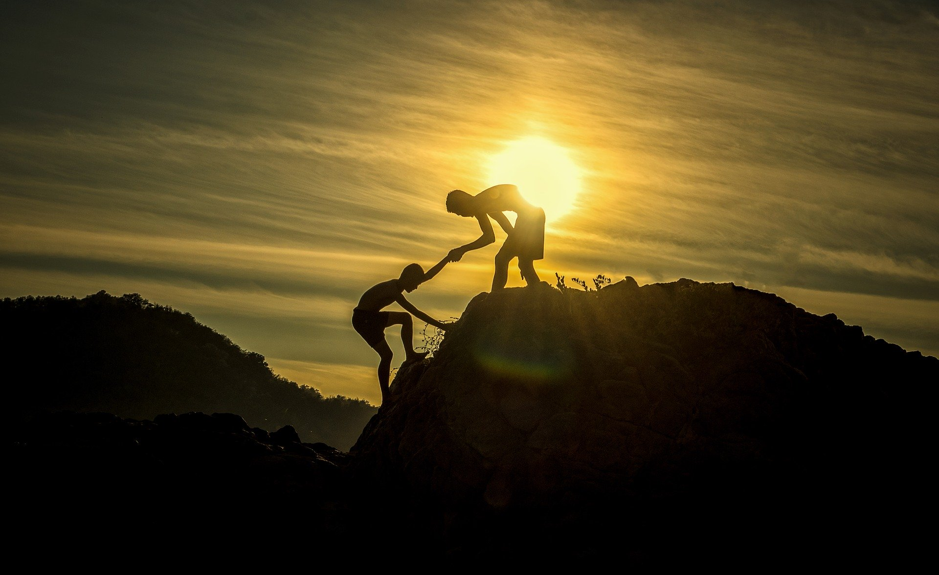 Berg Anstieg Hilfe