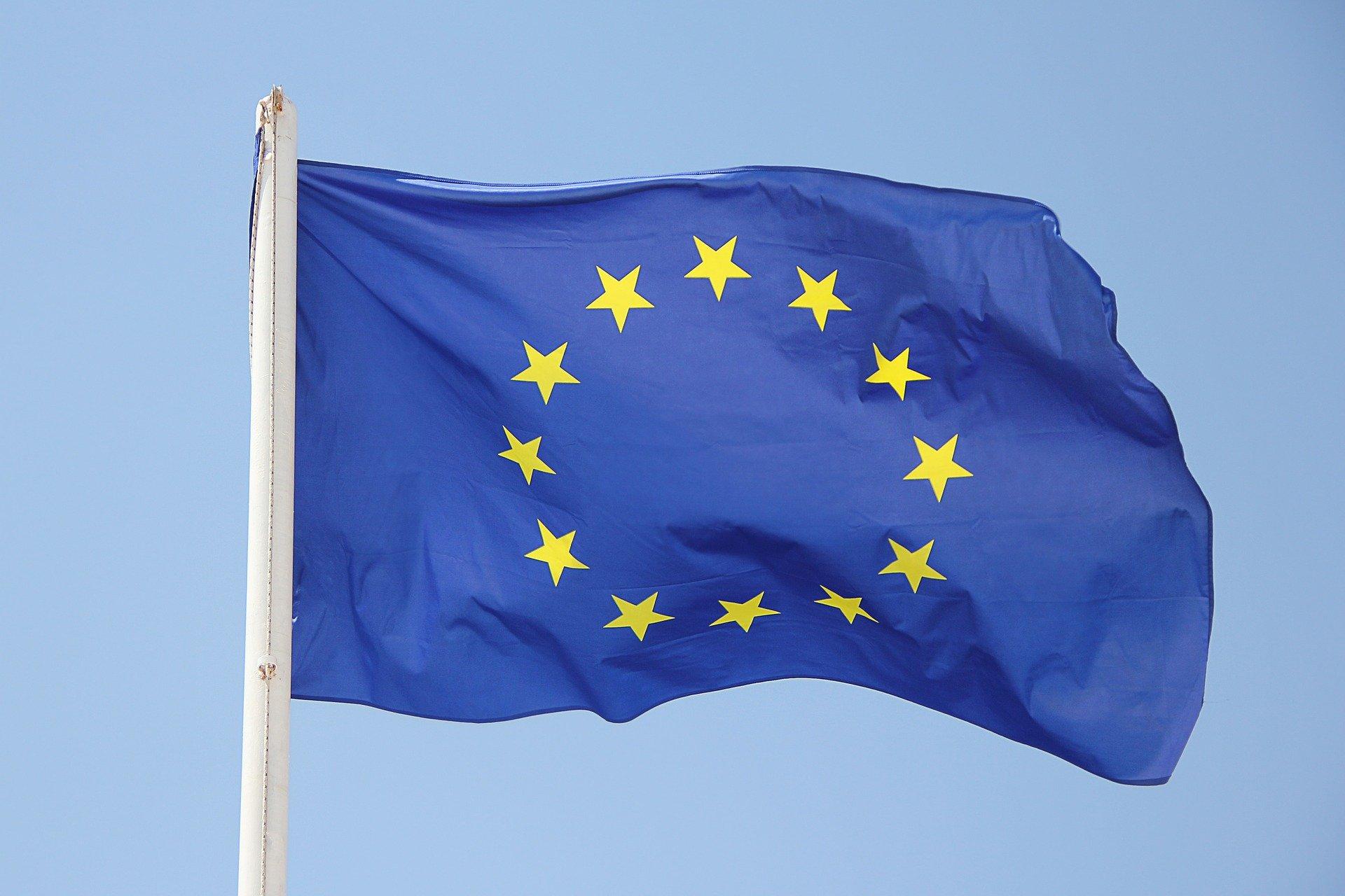 corona app - flag europe